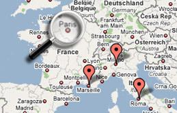 les blogs géolocalisés