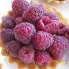 Raspberry tart, Llao Llao Hotel, San Carlos de...