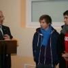 Cérémonie des voeux du maire: Joé et Samy ont...