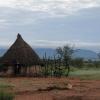Otjiheke at sunrise, Namibia, March 2011
