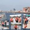 Triathlon des docks du Havre: Samy en solo puis...