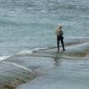 Le pêcheur au phare des baleines