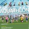 Championnat de Normandie d'aquathlon à Mt St...