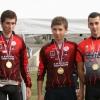 Triathlon de gonfreville en vue: Joé et Samy...