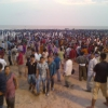 97 - Crowd on Juhu beach for Ganapati festival