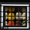 Sabots à la fenêtre