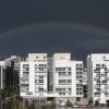 Rainbow, from my office, Boulogne Billancourt,...