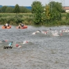 Championnat de France d'aquathlon: Samy se...