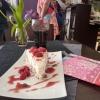 Ambiance fleurie au Kleines Cafe