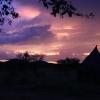 Otjiheke at sunset, Namibia, March 2011