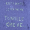 Emprunte, consomme, travaille, crve, Paris,...