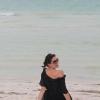Besos desde Isla Holbox, Mexico, January 2012