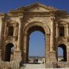 L'arc de triomphe d'Hadrien